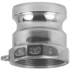 DXV238-200-A-AL - Dixon ValveAndrews/Boss-Lock Type A Cam and Groove Adapters