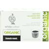 White Coffee French Roast Single Serve Organic Coffee BFG 55827