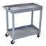 Luxor 2-Shelf High Capacity Tub Cart LUXEC11-G