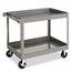 Tennsco Tennsco Two-Shelf Metal Cart TNNSC2436
