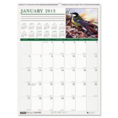 House of Doolittle™ Wild Birds Monthly Wall Calendar