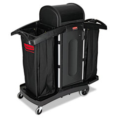 Buy Rubbermaid Commercial High-Security Housekeeping Cart