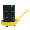 Drum Bogie (Capacity Vol. : 12 gal, Diameter : 35 3/4 in, Color : Yellow)