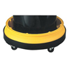 Drum Trays (Capacity Vol. : 10 gal, Diameter : 31 in, Color : Yellow)