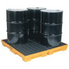 4-Drum Modular Platforms (Load Cap. : 10000 lb [Max], Width : 52 1/2 in, Depth : 51 1/2 in)