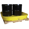 4-Drum Budget Basins (Capacity Vol. : 66 gal, Load Cap. : 8000 lb [Max], Width : 51 1/2 in)