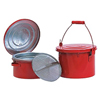 Bench & Daub Cans (Capacity Vol. : 2 qt, Diameter : 8 in, Height : 4 1/4 in)