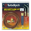Swirl Air Acetylene Kits (Gas Type : Acetylene, Includes : CGA 520 Regulator, G-4 Handle, A-3 Tip, AH-12 Hose, A-11 Tip, Soft Solders to 3 in., Silver Brazes to 1-5/8 in., B Tank Connection, Instruction Manual)