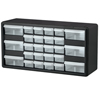 26-Drawer Storage Hardware and Craft Organizer (Color : Black, Quantity : 1 Each, Size : 20 x 10 x 6.5 )