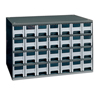 28-Drawer Storage Hardware and Craft Organizer (Color : Gray, Quantity : 1 Each)