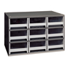 9-Drawer Storage Hardware and Craft Organizer (Color : Gray, Quantity : 1 Each)