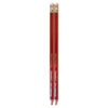 Write Dudes USA Gold Red Checking Pencils