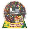 Crayola® 150-Count Telescoping Crayon Tower