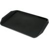 Caf� Handled Tray (Color : Black, Size : 16.93/12.06/0.60, Quantity : 24 per case)