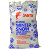 Santa® Plastic Winter Snow