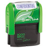 2000 PLUS� Green Line Self-Inking Message Stamp