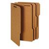 Globe-Weis® Heavy-Duty Top Tab Folders with Fasteners