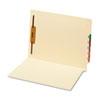 Globe-Weis® End Tab Folders with Fasteners