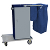 Escort� Epoxy Coated Microfiber Housekeeping Cart (Warranty : 10 Year Limited Warranty, Assembly : Ships Assembled, Quantity : 1 Each)