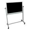Reversible Magnetic Whiteboard/Chalk Board