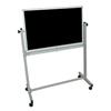Reversible Magnetic Whiteboard/Chalk Board