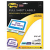 Post-it® Super Sticky Removable ID Labels