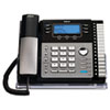RCA® ViSYS™ Four-Line Corded Expandable Business Phone System