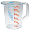 Rubbermaid� Commercial Bouncer� Measuring Cup (Cup Type : Measuring, Global Product Type : Cups-Measuring, Material(s) : Polycarbonate)