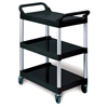 Three-Shelf Service Cart