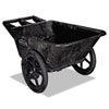 Rubbermaid� Commercial Big Wheel� Agriculture Cart (Cart Special Features : 7 1/2 Cu. Ft. Capacity, Handle Type : Bar, Capacity (text) : Capacity: 300 lbs.)