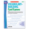 Scholastic Vocabulary Building Card Games