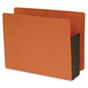 S J Paper Standard End Tab File Pockets