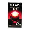 TDK High Standard VHS Video Tape