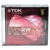 TDK DVD-RW Rewritable Disc
